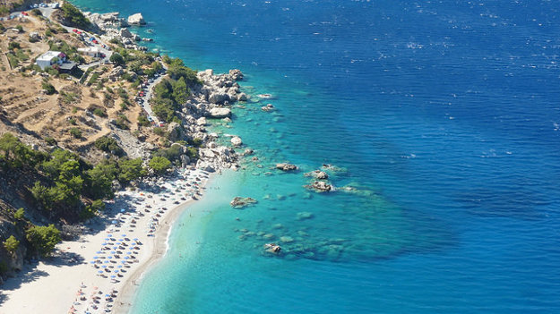 Karpathos, Grécko.