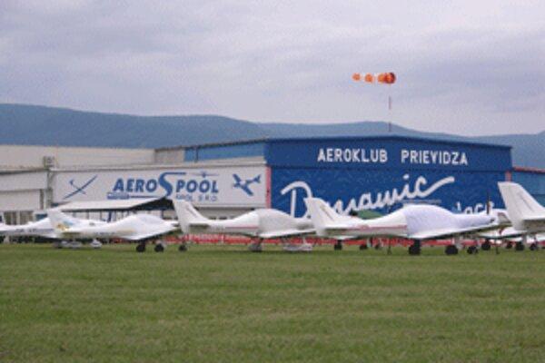 Prievidzský aeroklub je jedným z organizátorov majstrovstiev sveta.