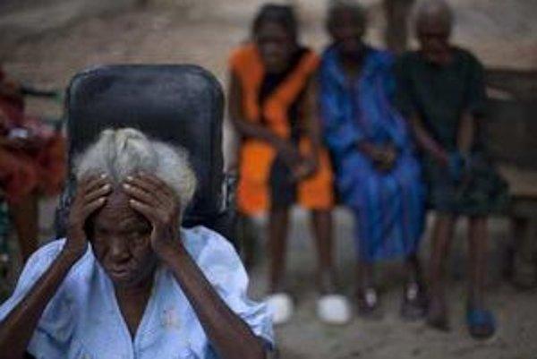Situácia na Haiti je stále veľmi zlá.
