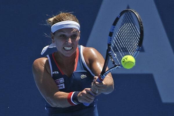 Dominika Cibulková vstúpi do bojov na Australian Open v utorok.