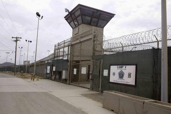 Americká väznica Guantánamo na Kube.