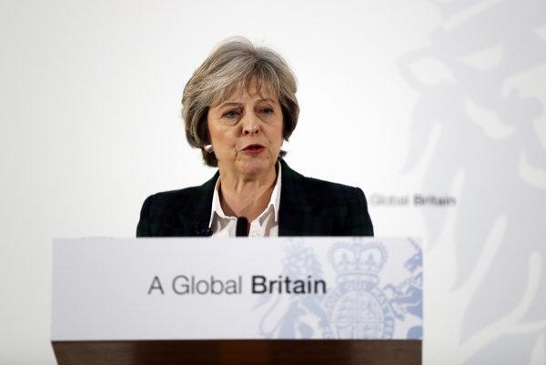 Britská premiérka Theresa Mayová predstavila plán tvrdého brexitu.