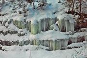 Ľadopád v známej doline.