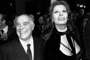 Sophia Loren a Carlo Ponti