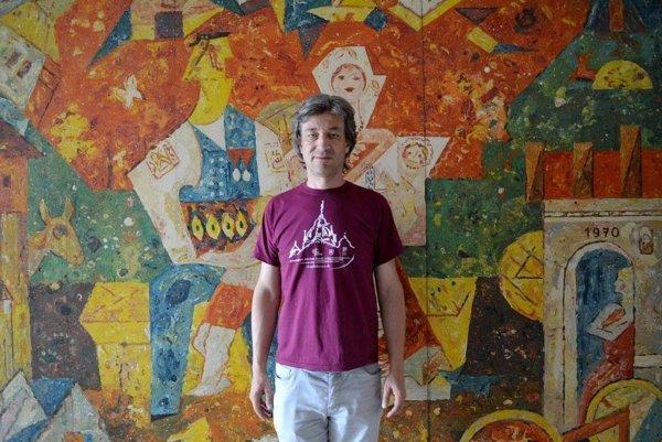 Milan Kolcun, turistický sprievodca.