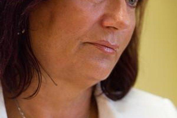 Počas rozhovoru, ktorý sama ponúkla, sa Mária Kreslová niekoľkokrát rozplakala.