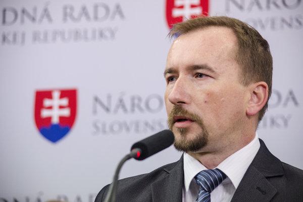 Poslanec NR SR za OĽaNO-NOVA Miroslav Sopko