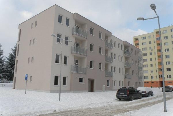 Bytovka na Gazdovskej ulici je posledná, nájomníci sa do nej nasťahovali koncom roka 2016.