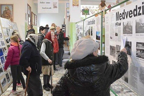 Na tretej výstave fotografii v Papradne. Zameraná bola na charakteristický rys obcí spod Javorníkov - bačovy.