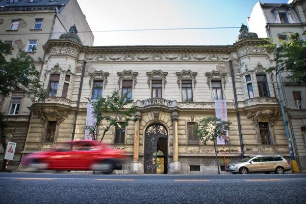 Pisztoryho palác na Štefánikovej ulici.
