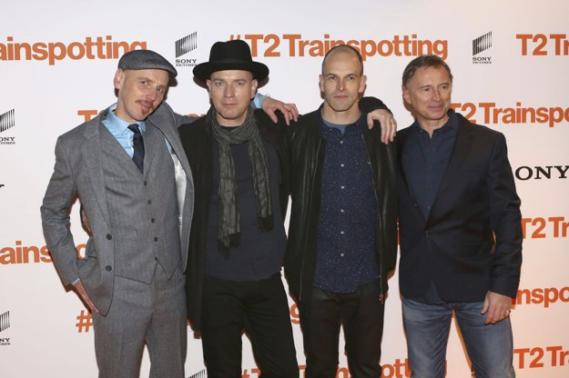 Ewan Bremner, Ewan McGregor, Johnny Lee Miller a Robert Carlyle.