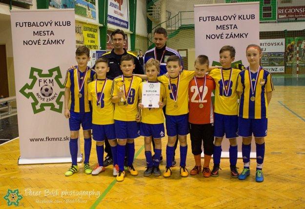Víťazné družstvo DAC Dunajská Streda