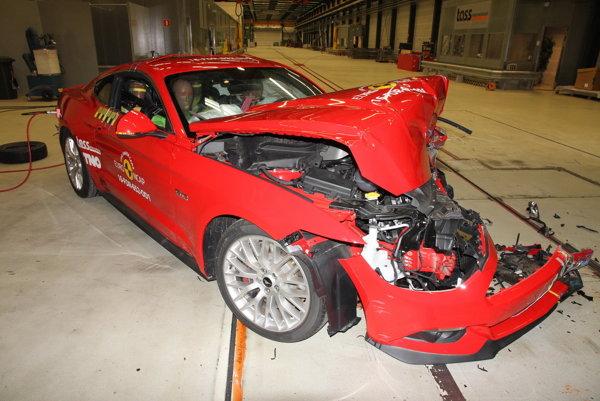 Ford Mustang získal v crash testoch Euro NCAP len dve hviezdy