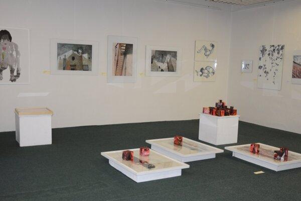 Výstava Trienále akvarelu.