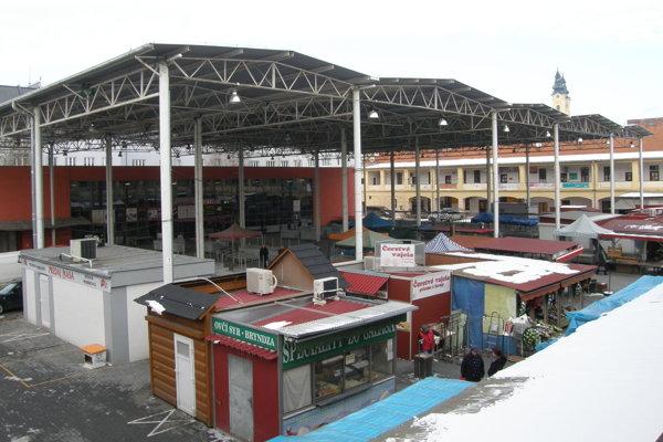 Mestská tržnica.