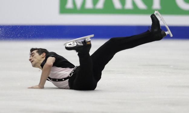 Javier Fernández zvíťazil aj napriek pádu.