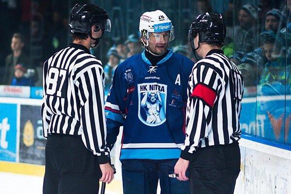 Juraj Štefanka je najskúsenejší nitriansky hokejista.