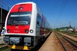 Nový elektrický poschodový vlak nedávno uviedli do prevádzky v Žiline.