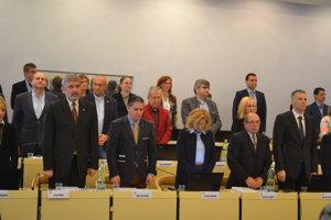 Mestské zastupiteľstvo. Prešovskí poslanci rokovali.