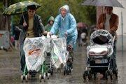 Meteorológovia na dnešný deň predpovedajú dážď.