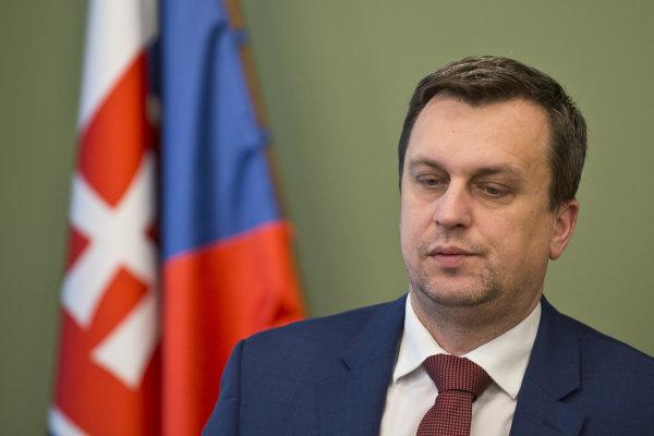 Predseda SNS, Andrej Danko.