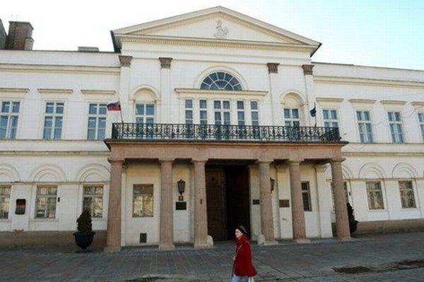 Štátna vedecká knižnica v Košiciach.