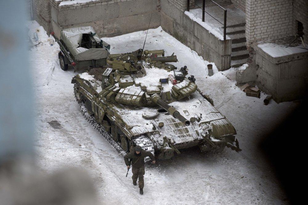 Do oblasti prichádzajú ukrajinské tanky.