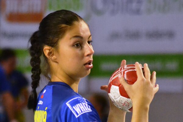 Veronika Habánková dala vOlomouci 4 góly.