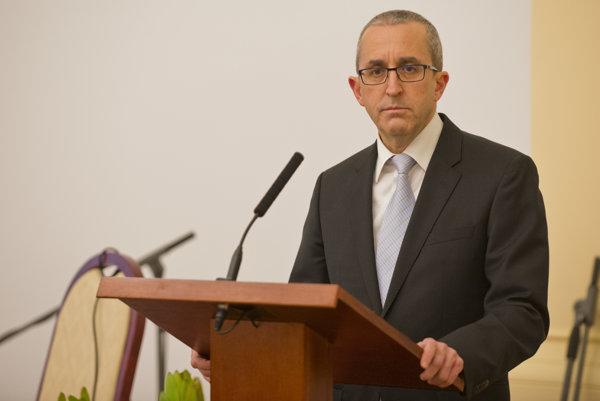 Veľvyslanec štátu Izrael v SR Zvi Aviner Vapni.