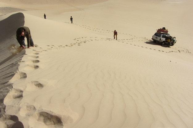 Hurghada, Egypt: Okrem mora si môžete užiť piesok a duny.