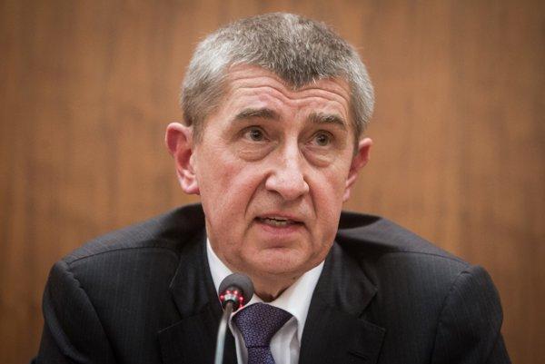 Minister financií ČR Andrej Babiš.