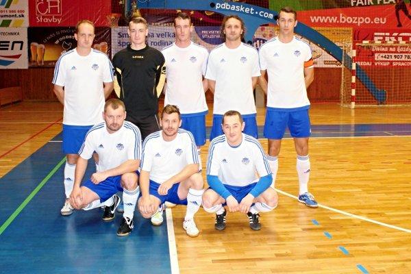 Futsalový tím Neografie.