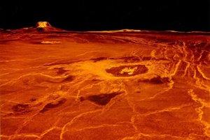 Od roku 1985 si vedci musia vystačiť len z počítačovými vizualizáciami Venušinho povrchu. Tento zobrazuje sopečný pás Eistla Regio.