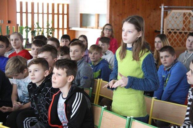Téma mokradí žiakov v ZŠ na Hurbanovej ulici zaujala.