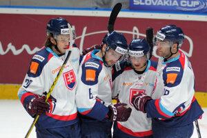 Hokejisti Slovenska predviedli skvelý výkon.