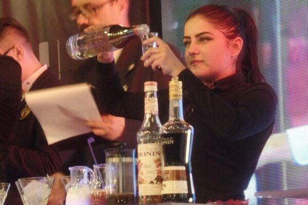 Petra Uríková sa stala absolútnou víťazkou barmanskej súťaže v Bratislave.