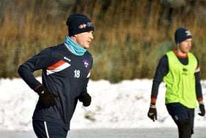 Kapitán FC ViOn Peter Orávik je v Zlatých Moravciach už viac ako sedem rokov.