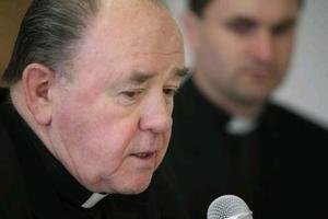 Spišský diecézny biskup František Tondra