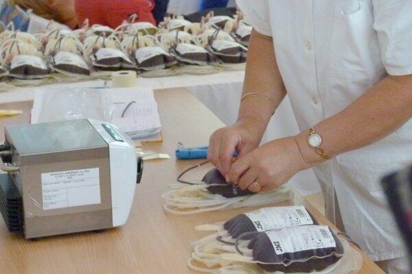 Odbery krvi budú aj na viacerých miestach okresu.