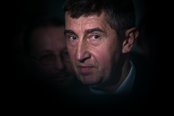 Český minister financií Andrej Babiš.