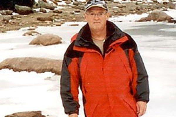 Peter Rolinec je nezvestný od pondelka, stratil sa počas túry.