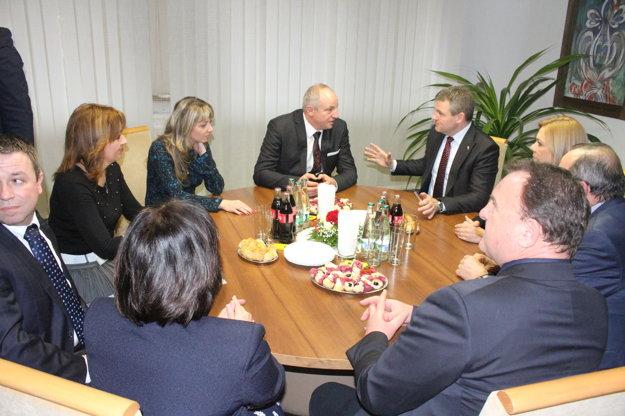 Na rokovaní sa preberali najmä priority Šale.