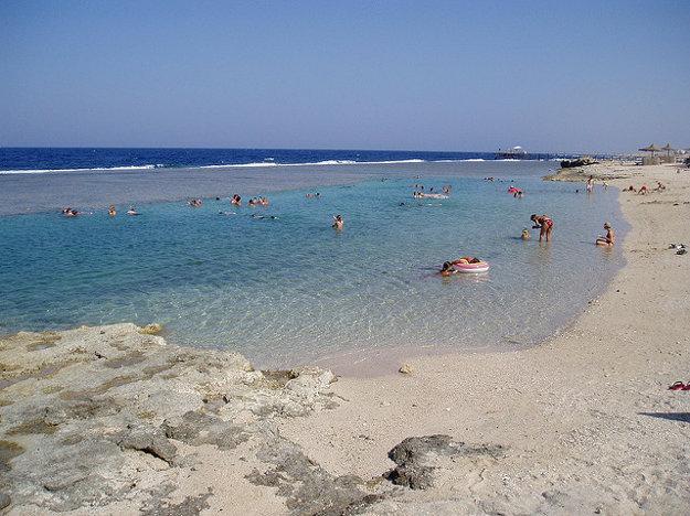 V Marsa Alam sa možno kúpať v mori takmer celý rok.