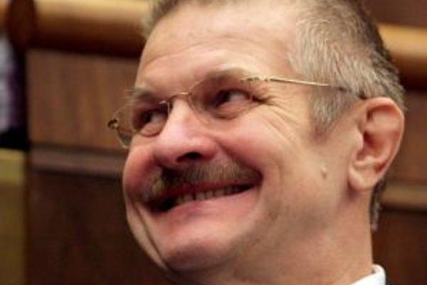 Podpredseda parlamentu Viliam Veteška.