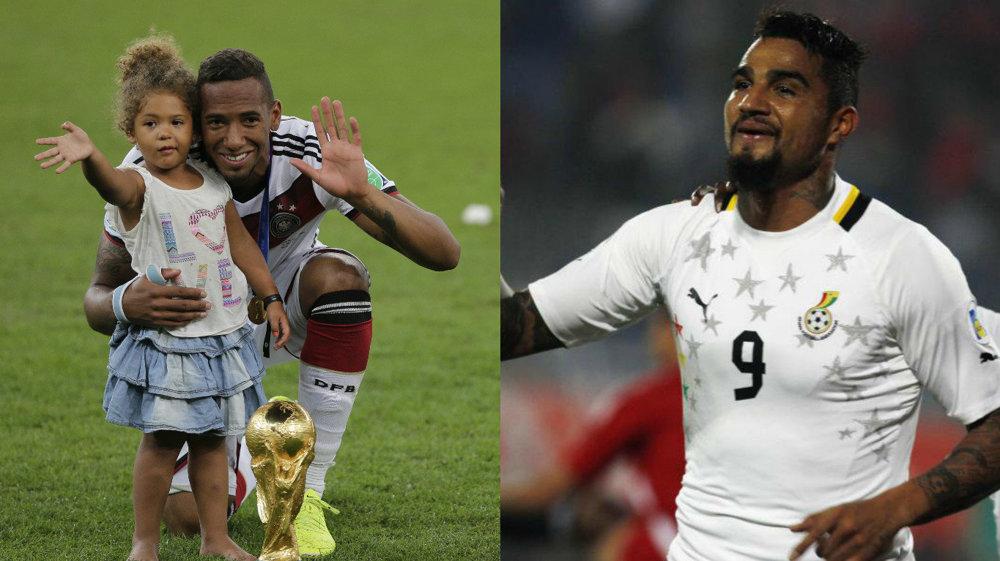 Kevin-Prince (vpravo) zanevrel na Nemecko a reprezentuje