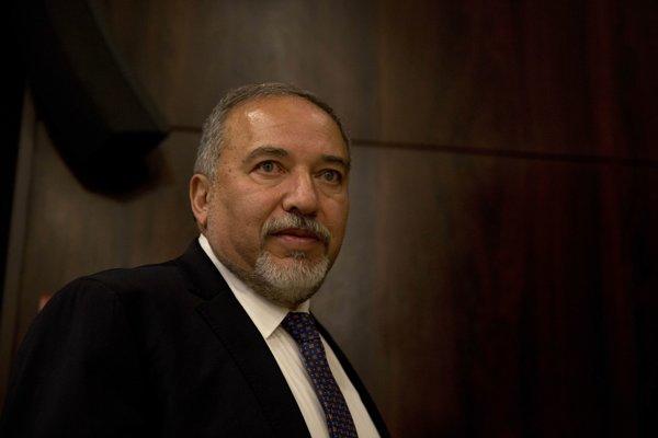 Avgor Lieberman.