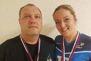 Martin Rašner a Jana Tužinská už spolu úspešne bojujú vo farbách UKF Nitra.