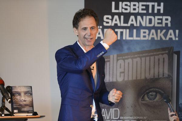 Spisovateľ David Lagercrantz v roku 2015, keď nadviazal na slávnu trilógiu Millenium.