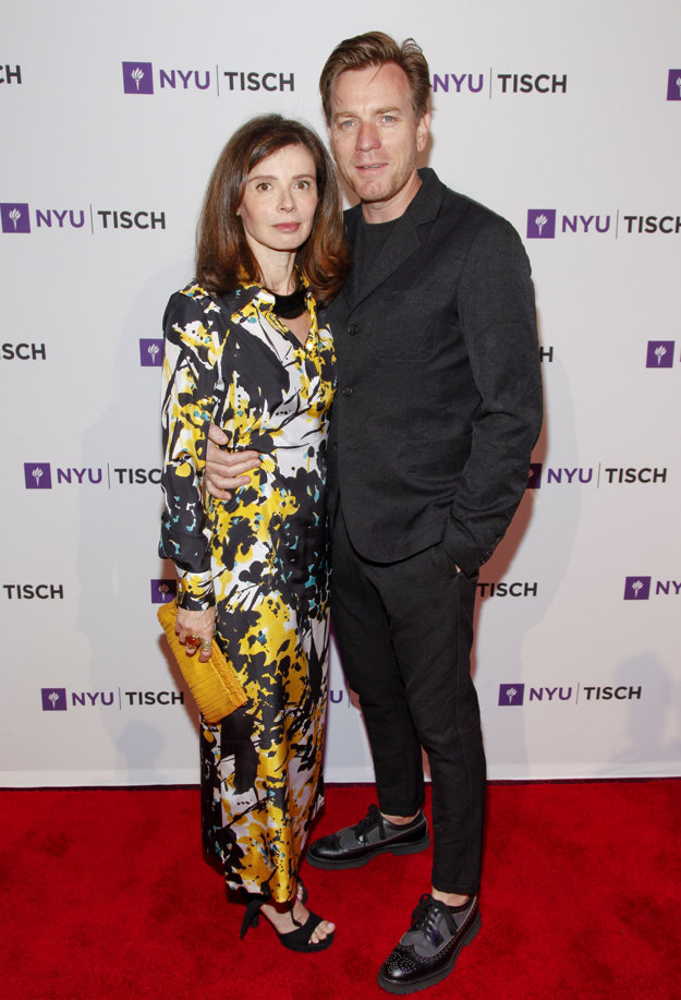 Ewan McGregor s manželkou Eve Mavrakis