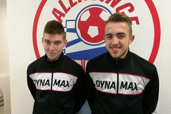 Matej Fuska a Matúš Frišo sú nové tváre v Alekšinciach.